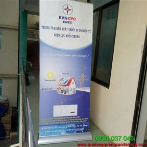 Standee banner cuốn hào hoa một mặt